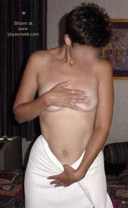 Pic #1 - White Towel Fun