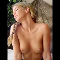 Topless Blonde - Blonde Hair, Topless Blonde