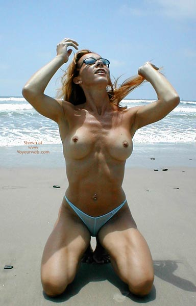 Pic #2 - Kim4kate Cold Hot Day At The Beach 2