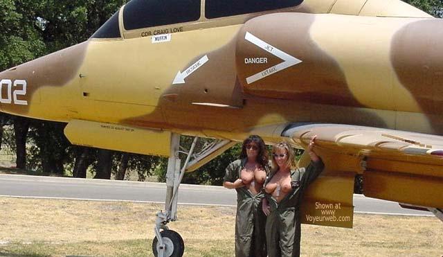 Pic #3 - *GG Jill & Bonnie Join the Navey