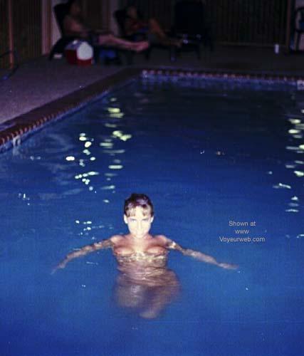 Pic #4 - Hotel Pool at Night
