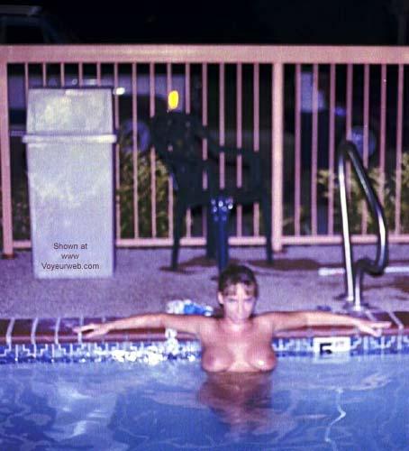 Pic #5 - Hotel Pool at Night