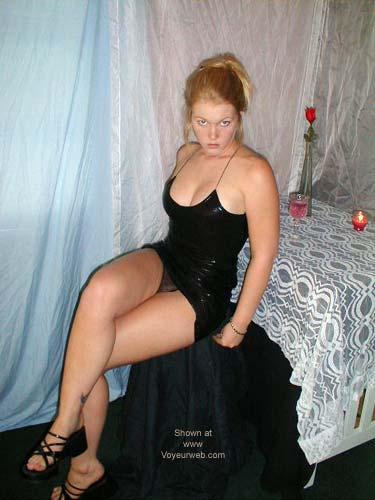 Pic #2 - SunnyBare's Black Dress 1
