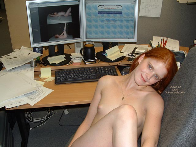 Pic #1 - Sierra At The Office