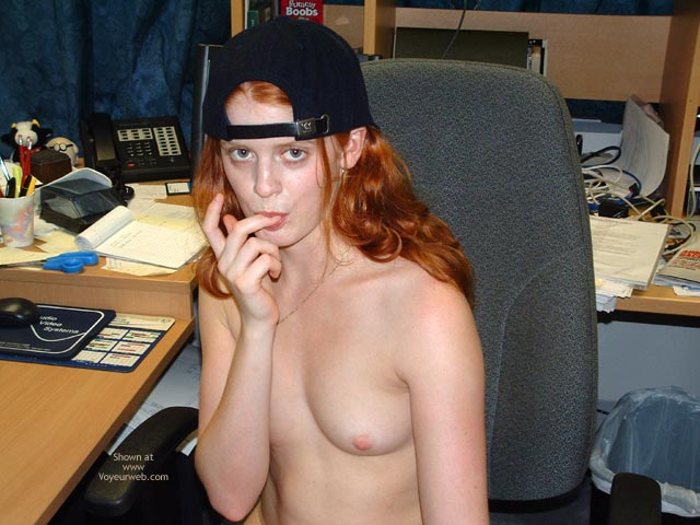 Pic #2 - Sierra At The Office