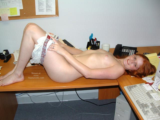 Pic #4 - Sierra At The Office