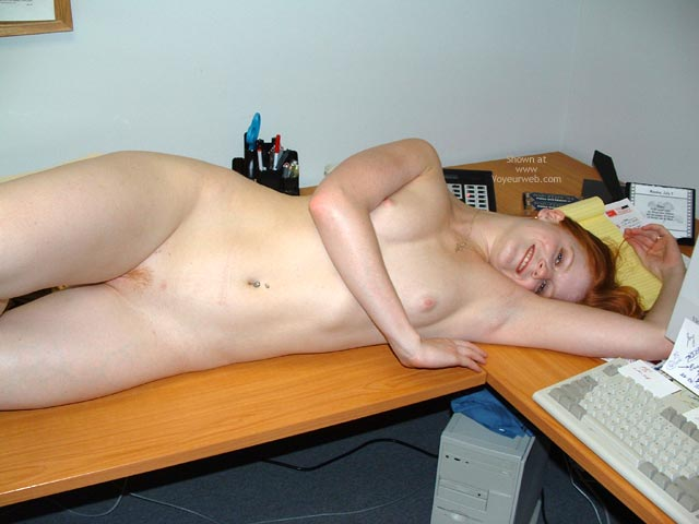Pic #5 - Sierra At The Office