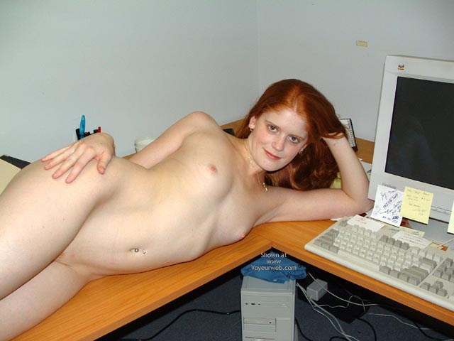 Pic #6 - Sierra At The Office