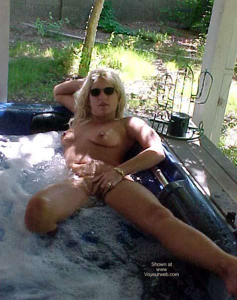 Pic #2 - Hot Tub Wife