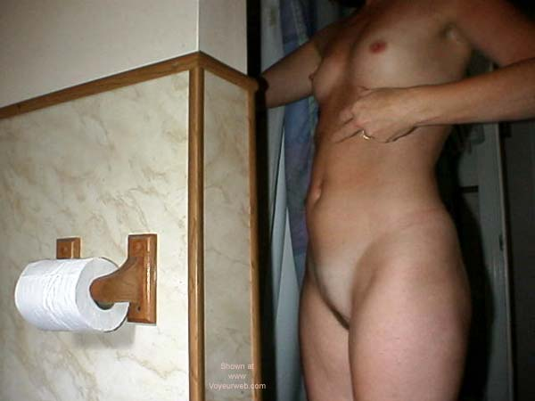 Pic #2 - Wife Getting in Shower & Dressed