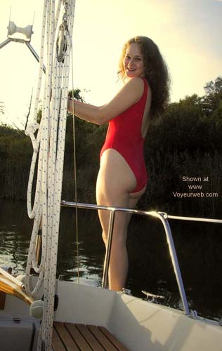 Pic #2 - Lamb in Red on The Boat