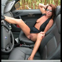 A Convertible in The Corn Fields 2