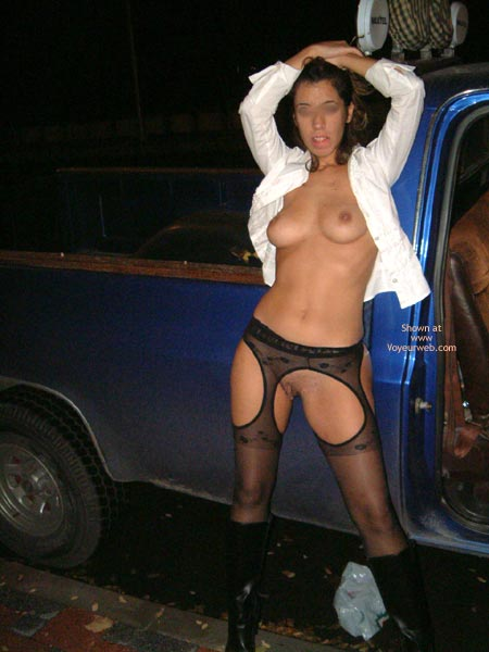 Pic #2 - Alice  In The Road With Truck