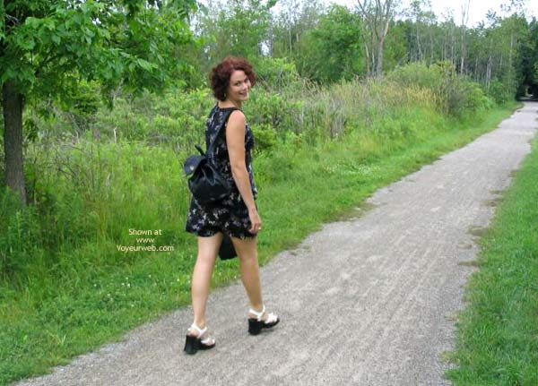 Pic #1 - Suzanne In The Woods 1