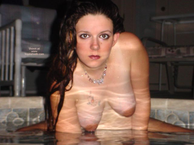 Pic #2 - Preggo Fairy In The Pool2