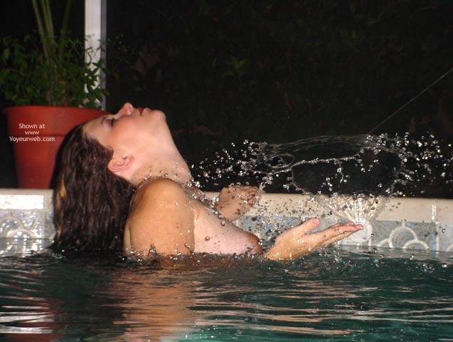Pic #3 - Preggo Fairy In The Pool2