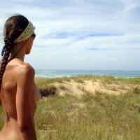 Marisa In A Cantabria Beach
