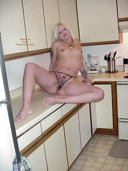 Pic #4 - Ana In The Kitchen