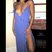 Petite Blue Dress