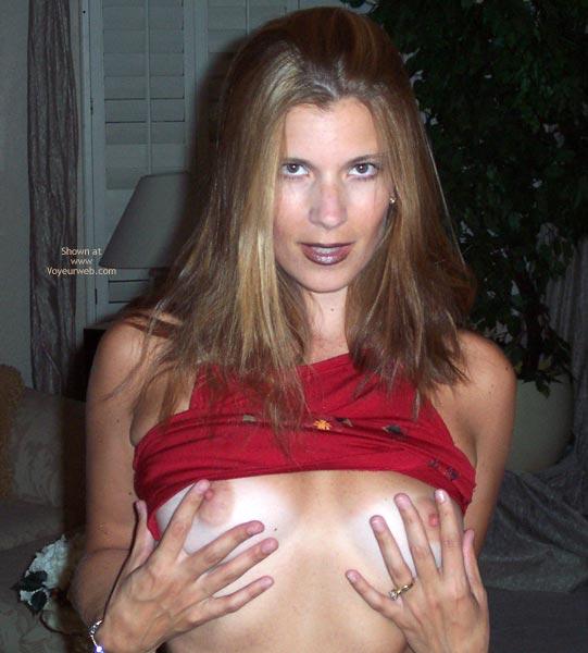 Pic #4 - Pamela In Red