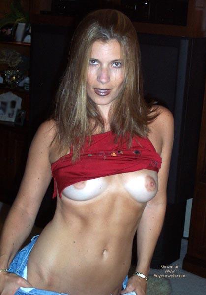 Pic #5 - Pamela In Red