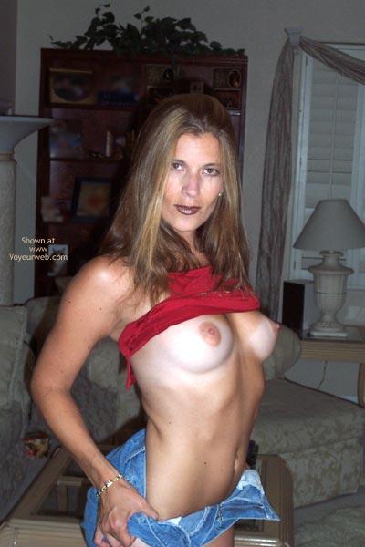 Pic #6 - Pamela In Red