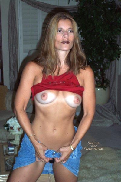 Pic #7 - Pamela In Red