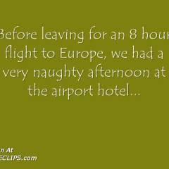 Naughty At The Hotel...