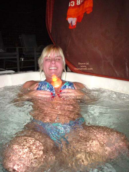 Pic #7 - Laney Ready For The Hot Tub