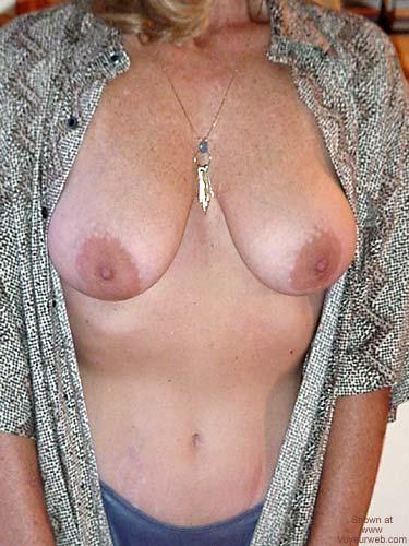 Pic #4 - Victoria Ann in Hubbys Shirt