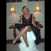 Angel In Black Gown