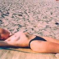 Nude Girl in a Nude Beach 1