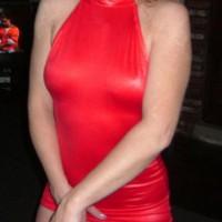 NY Wife's Red Dress