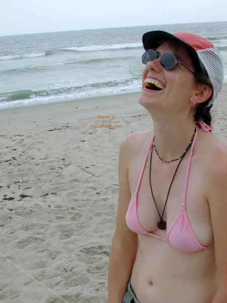 Pic #2 - Wicked Weasel On The Beach First Time Contri