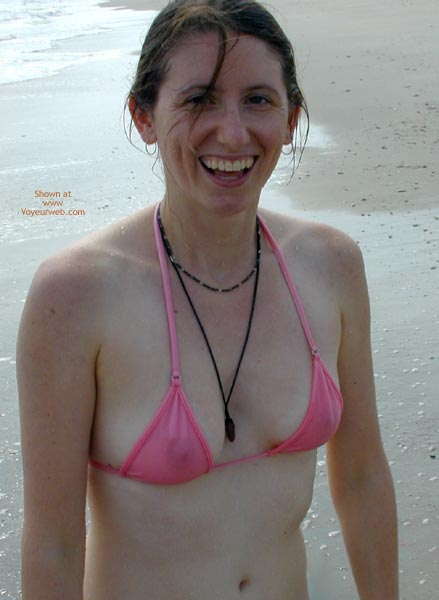 Pic #4 - Wicked Weasel On The Beach First Time Contri