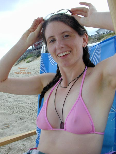 Pic #10 - Wicked Weasel On The Beach First Time Contri