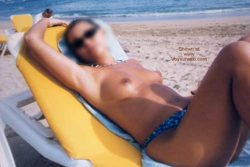 Pic #2 - My Girfriend Tanning