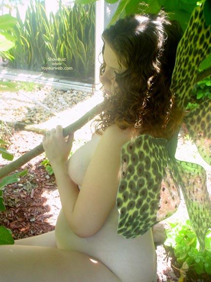 Pic #9 - Preggo Fairy In Her Garden