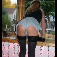*LB Polka Dot Skirt w/Lickety Split