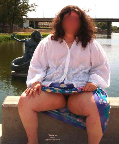 Pic #5 - Bbw In The Park