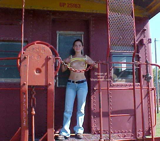 Pic #1 - Scotti in Old Abilene Kansas