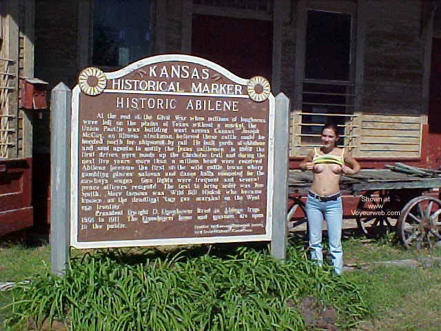 Pic #6 - Scotti in Old Abilene Kansas