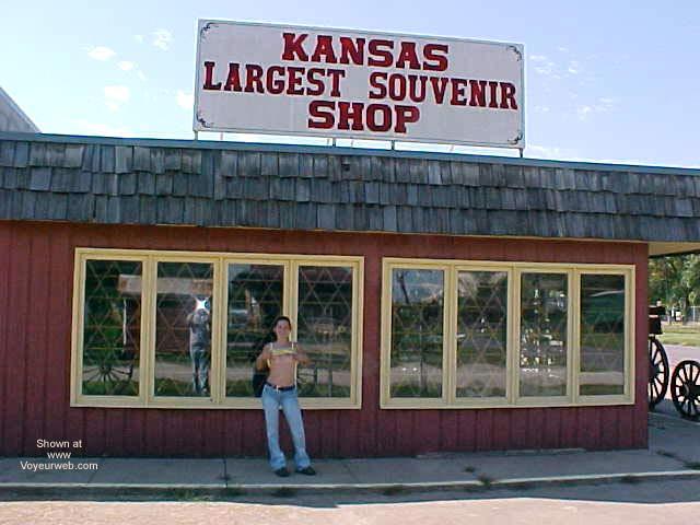 Pic #9 - Scotti in Old Abilene Kansas