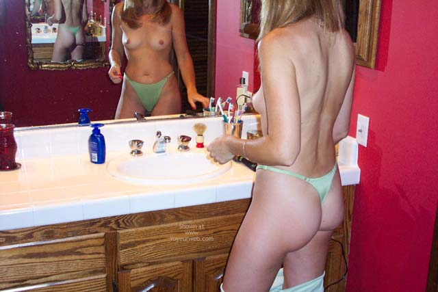 Pic #2 - Getting Ready For Work