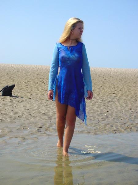 Pic #6 - German Svenja Is Back At The North Sea 1