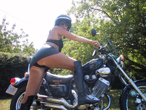 Pic #6 - Maeva The French Girl And Its Motor Bik