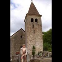 Julie Hsavoie In Historic Village