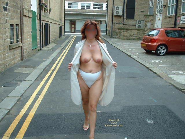 Pic #2 - Sue Flashing In Huddersfield Uk