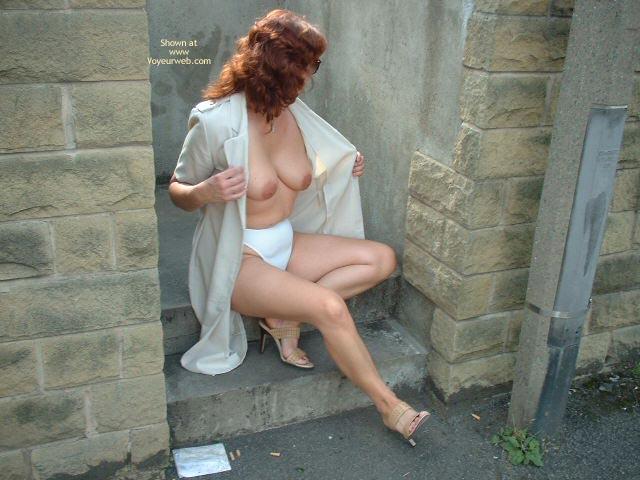 Pic #6 - Sue Flashing In Huddersfield Uk