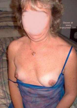 Pic #4 - Wife in Blue